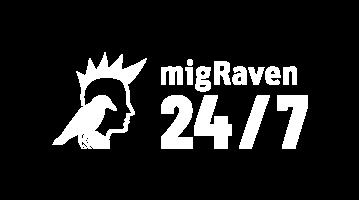 migRaven 24/7 Logo
