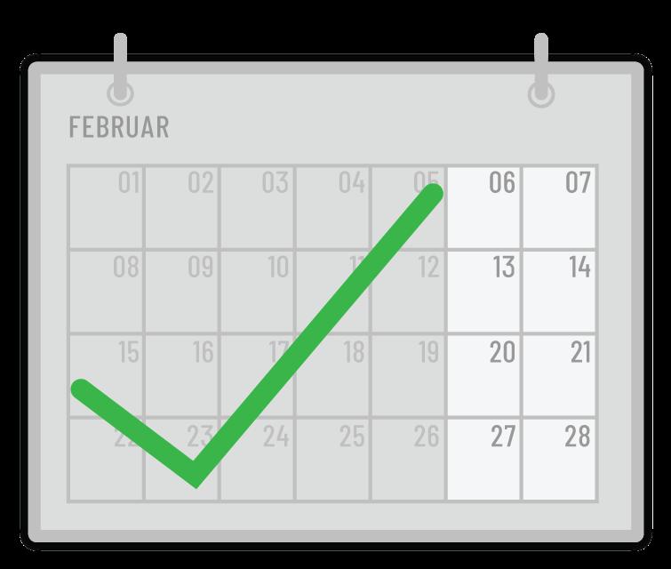 Einen Monat pro Mitarbeiter Einsparpotential